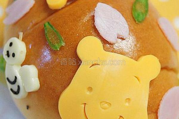 维尼小熊芝士面包卷的做法