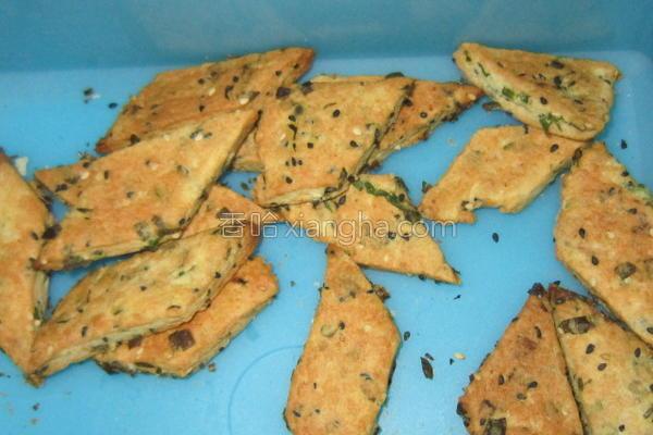 葱香芝麻饼干的做法