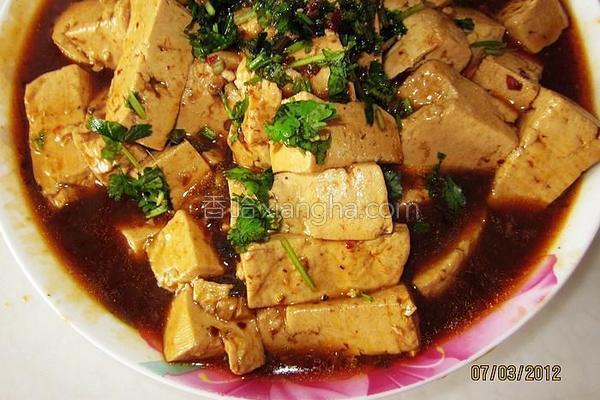 老干妈辣酱豆腐