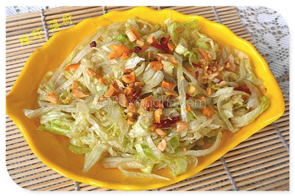 花生拌生菜
