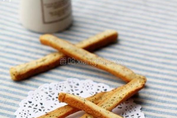 红茶面包棒的做法
