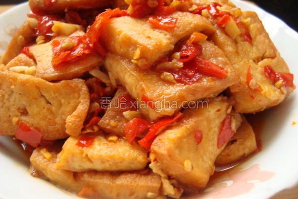 家常香辣豆腐的做法