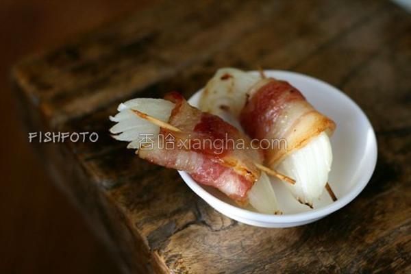 培根洋葱卷的做法
