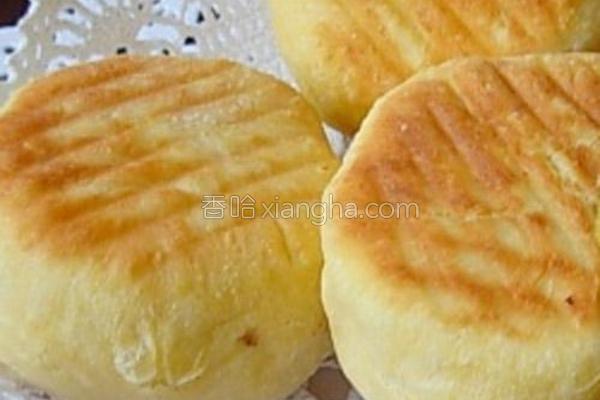 烙火腿面包的做法