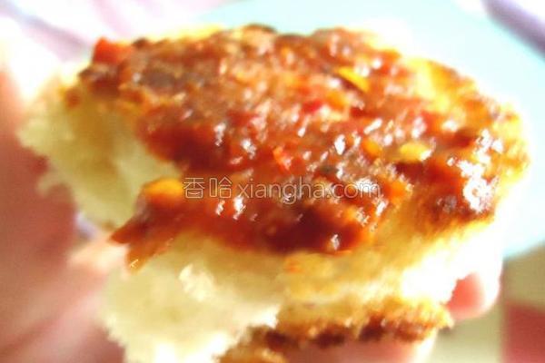 辣酱馒头干的做法
