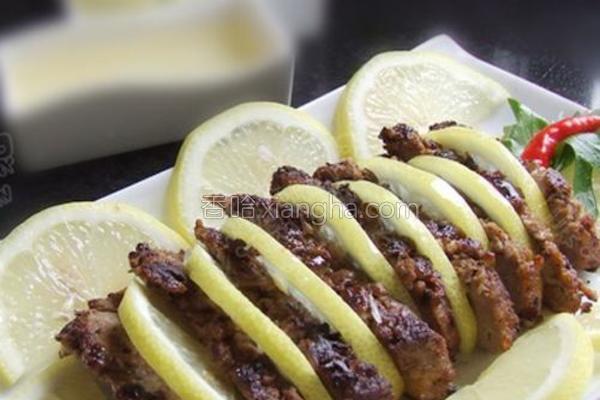 香煎柠檬鸭的做法