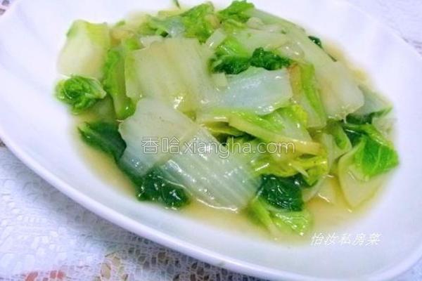 清汤白菜的做法