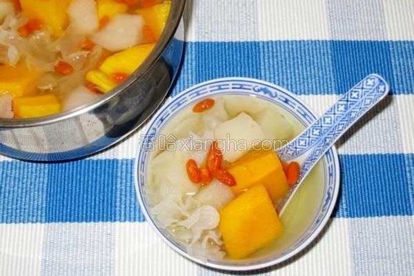 双雪炖木瓜的做法