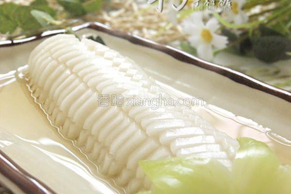 酸甜玉米小萝卜的做法