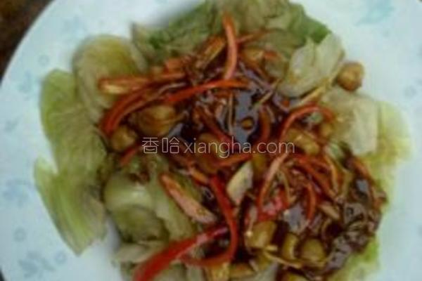 蚝油干贝生菜的做法