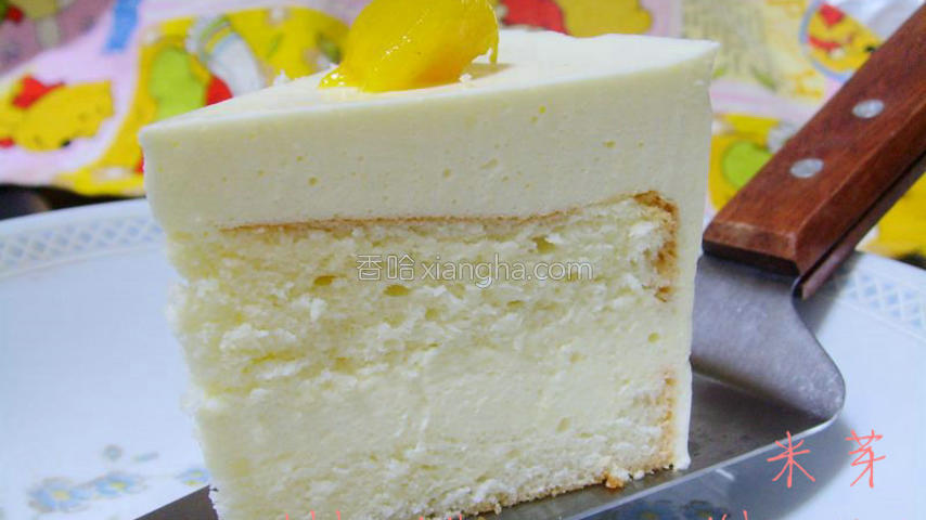 椰香慕斯蛋糕