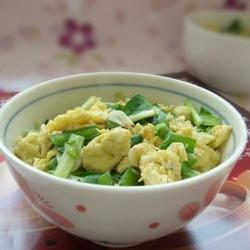 韭菜蝦皮炒雞蛋的做法[圖]