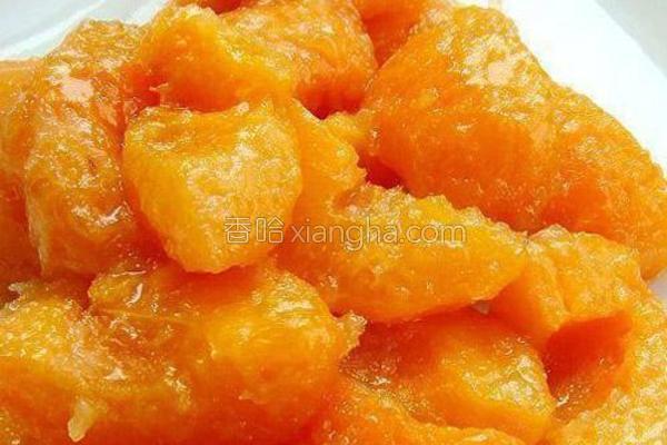 冰极煎鲜杏的做法