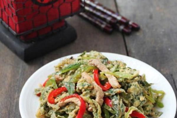 炒杂粮野菜
