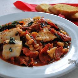 西班牙辣肠烧鳕鱼的做法[图]