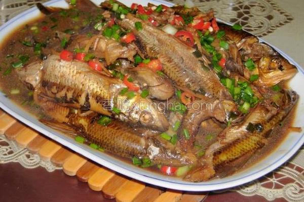 红烧长江杂鱼