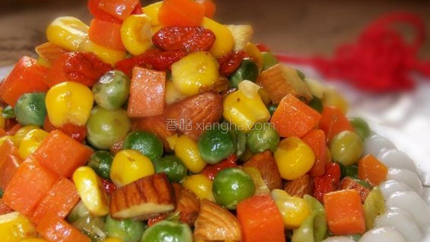 营养全面的拌杂蔬