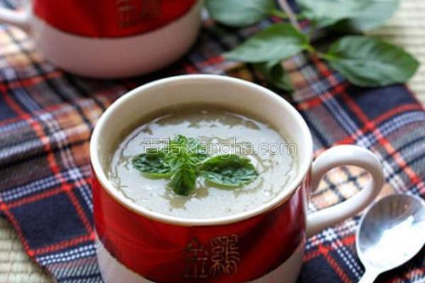 绿豆冰沙的做法