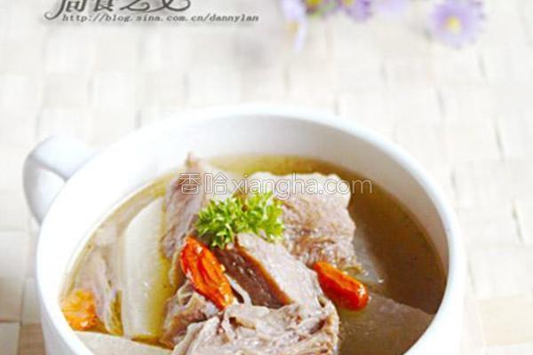 花雕牛腩萝卜锅的做法