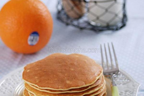 法式香橙煎松饼的做法