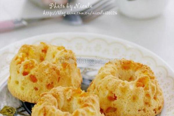 橙香天使蛋糕的做法