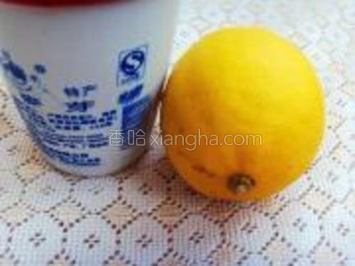 准备柠檬和麦芽糖备用。