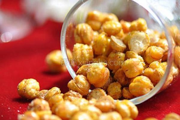 香酥鹰嘴豆的做法