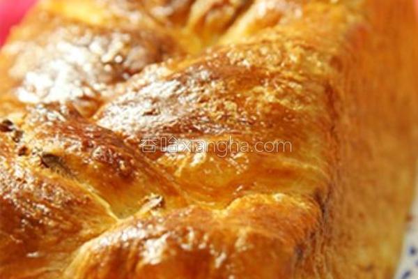 丹麦金砖面包的做法