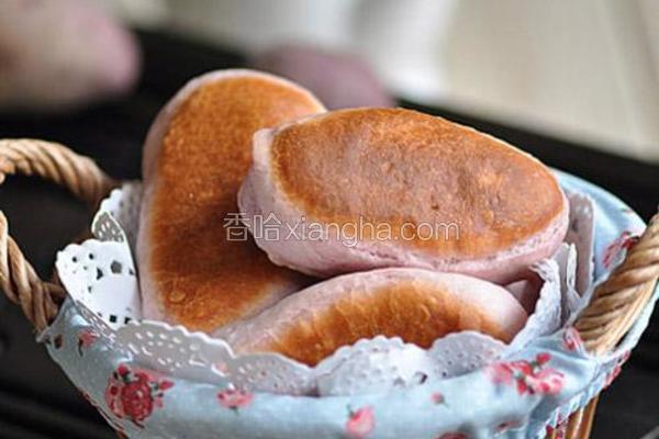 紫薯培根煎饼