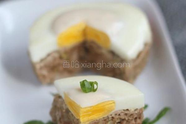 蛋肉糕的做法