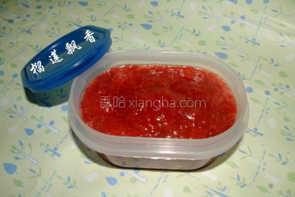草莓酱极做法的做法
