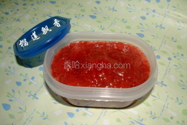 草莓酱极做法
