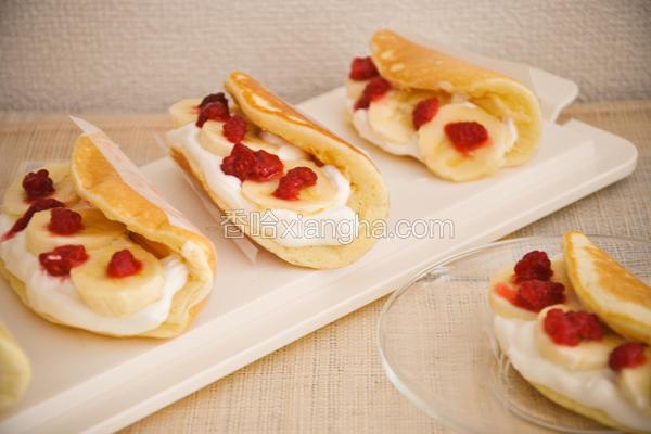 法式水果卷饼