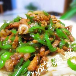 青椒肉丝面的做法[图]