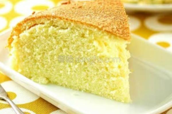 美味蛋糕的做法
