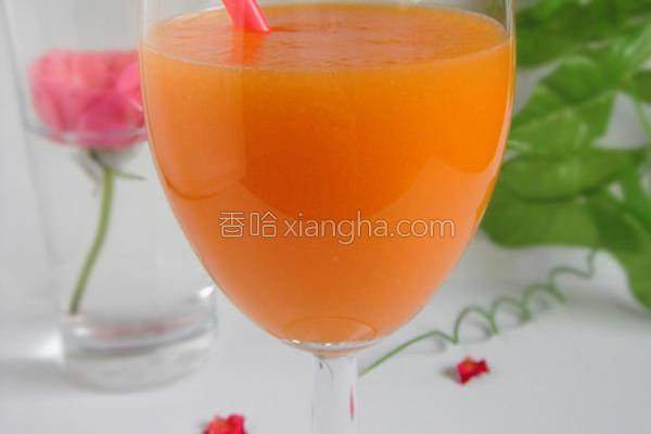 木瓜柳橙汁