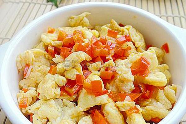 剁椒炒蛋的做法