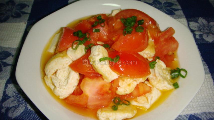 豆腐炒西红柿