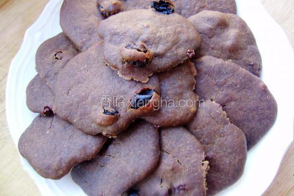 黑加仑巧克力饼