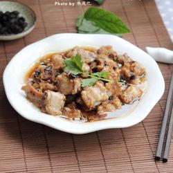 豆豉姜汁蒸排骨的做法[图]