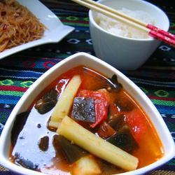 土豆番茄海带汤的做法[图]