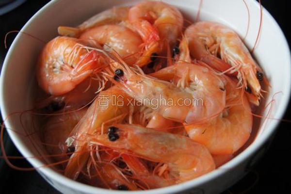 白灼对虾的做法