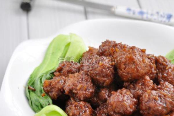 米饭肉丸的做法