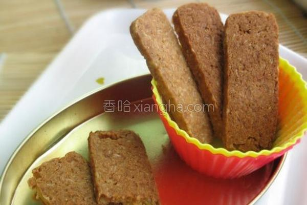 红糖燕麦酥的做法