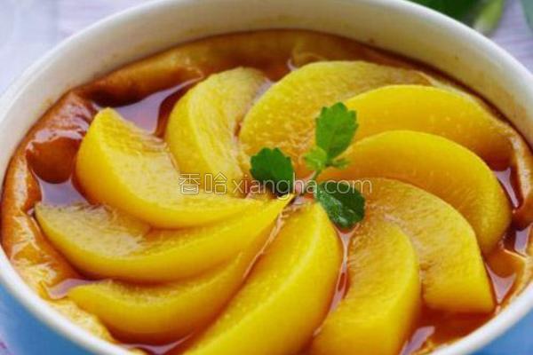 杏桃酸奶布丁蛋糕的做法