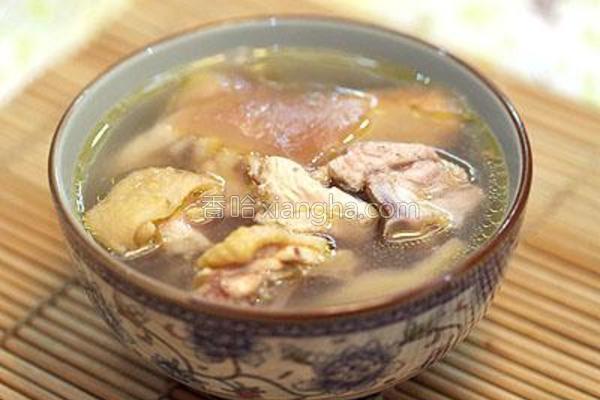 芦荟鸡汤的做法