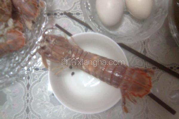 清蒸皮皮虾