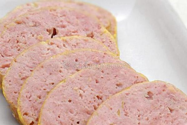 自制健康午餐肉的做法