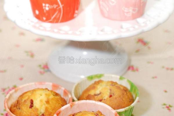 蔓越莓杏仁片蛋糕的做法