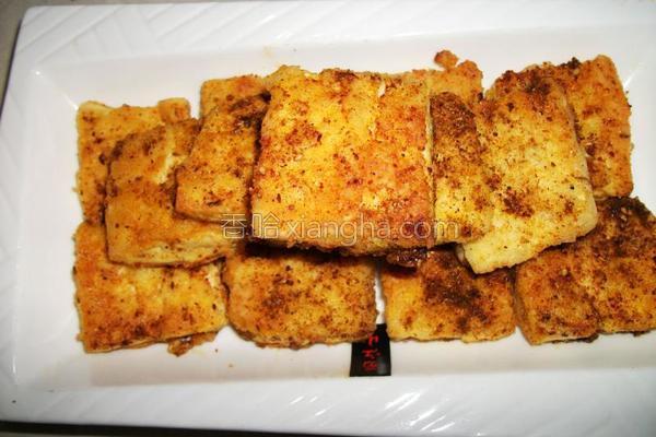 铁板烤豆腐的做法
